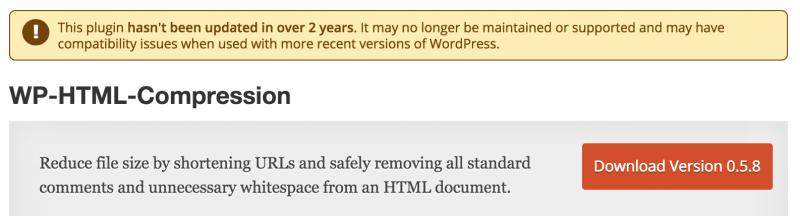 WP-HTML-Compression