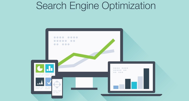 Search Engine Optimization flat icon illustration of wordpress